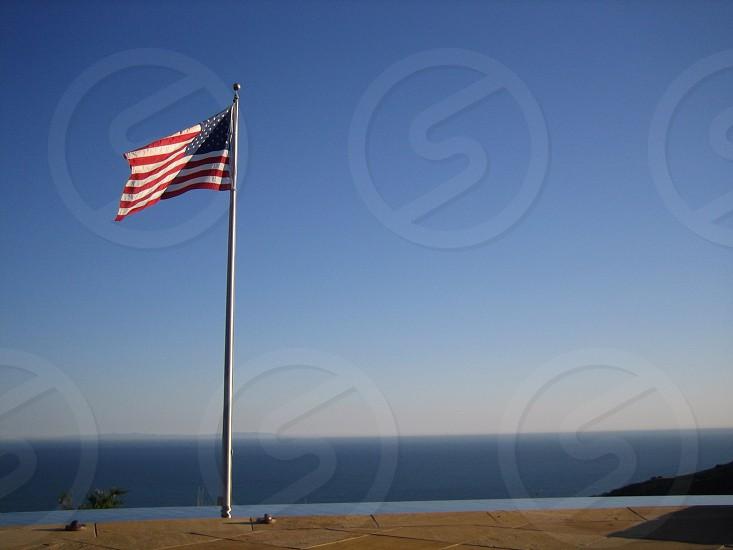 amerrican flag photo