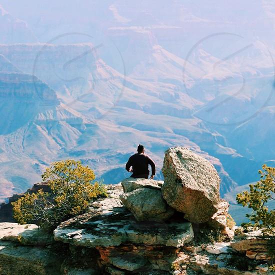Grand Canyon USA climb immense colossal  photo