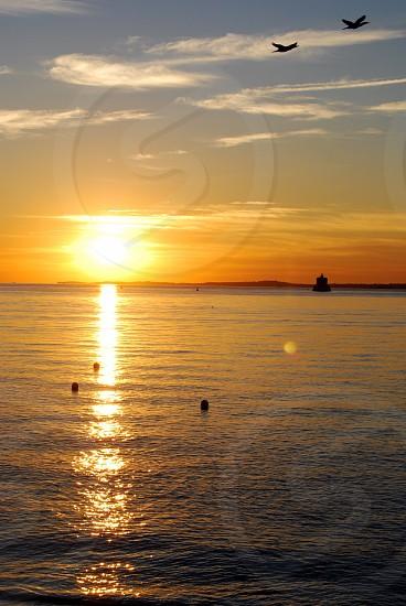 Sunrise on the Long Island Sound photo