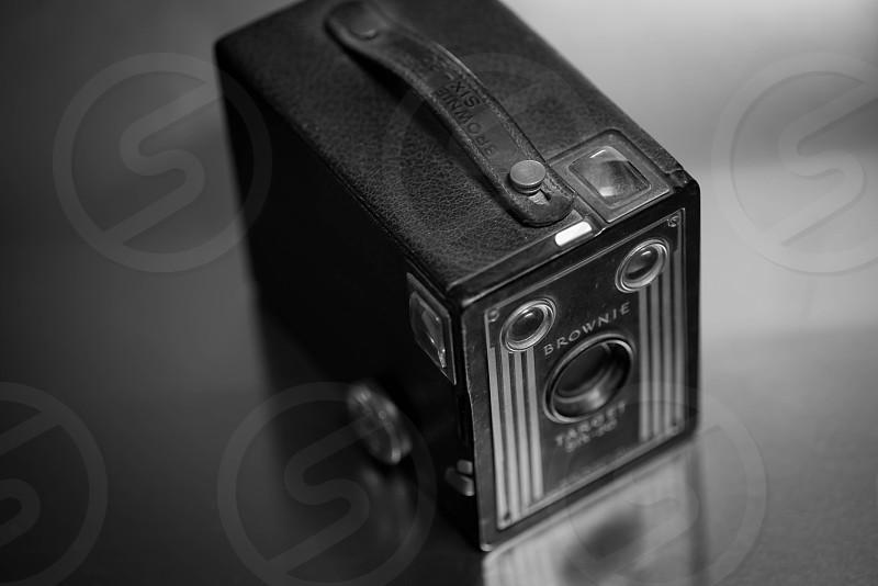 black brownie target device photo
