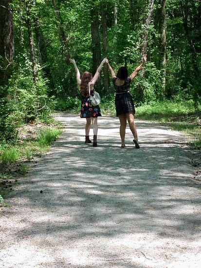 Friends on a Nature Walk photo
