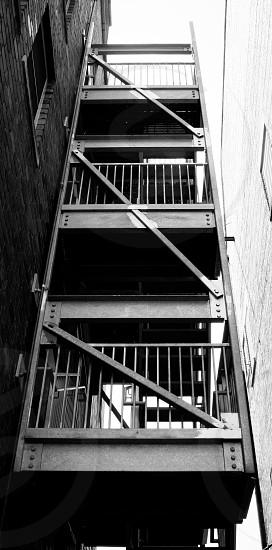 Asheville NC fire escape photo