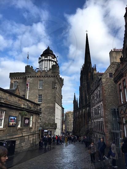 Camera obscura Edinburgh  photo