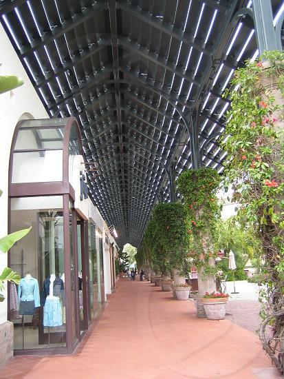 Outdoor mall California  photo