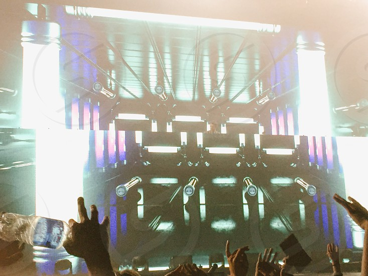 Seeing zedd for the first time at the DC armory in Washington D.C. 🙏 on his true colors tour 2015! photo