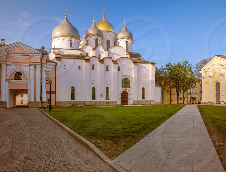 Cathedral of St. Sophia in Veliky Novgorod (Novgorod the Great). Russia photo