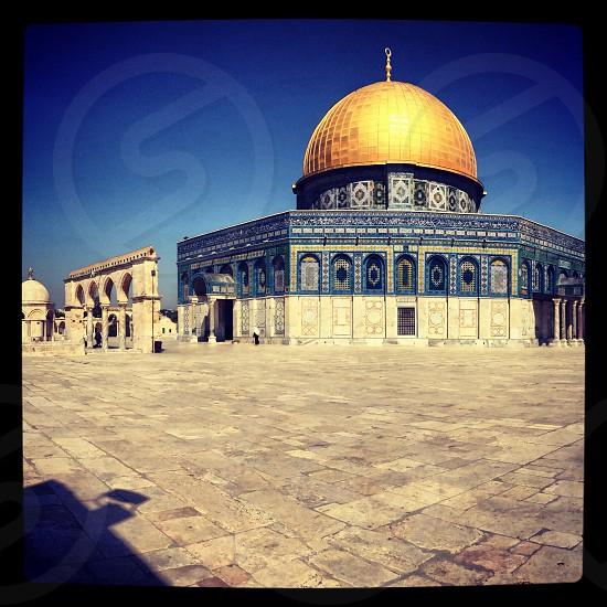 Holy Dome of the Rock Jerusalem  photo