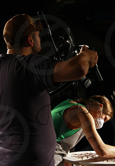 photographer artist artwork studio glass blowing camera photo
