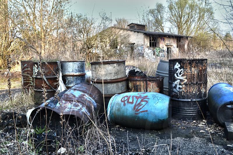 Barrels Oranienburg Germany photo