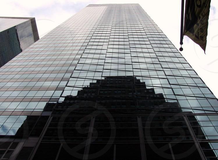 perspective building skyscrapers photo