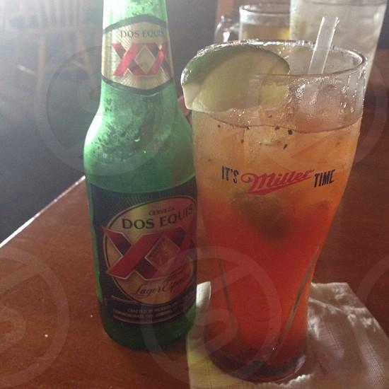 Summer drinks  michilada photo