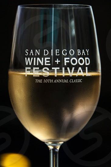 San Diego Wine + Food Festival white wine wine glass night photo