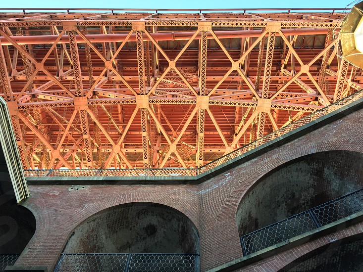 Fort Point in San Francisco California photo