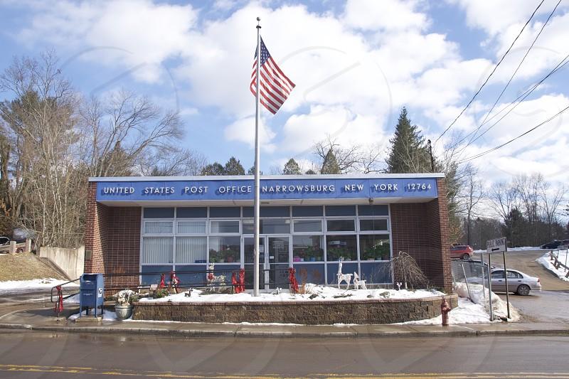 Post Office Narrowsburg New York photo