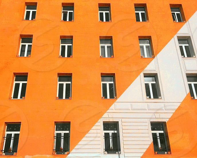 March minimalist building  photo
