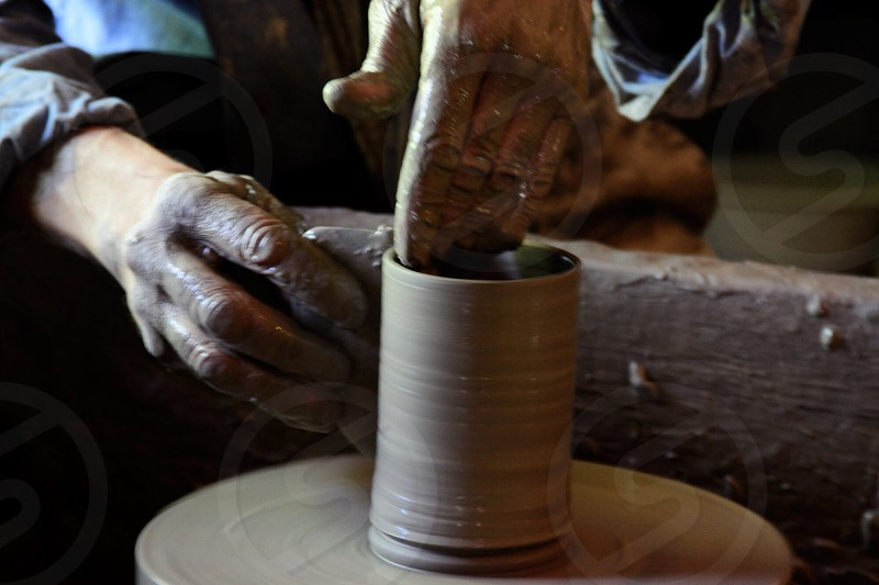 Pottery clay lifestyle  photo
