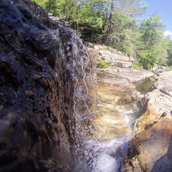 New paltz waterfall go pro retreat vacation adventure  photo