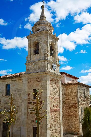 Villafranca Montes de Oca by the Way of Saint James in Castilla Burgos photo