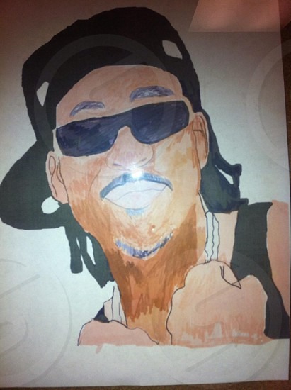 This is a drawing of max b  I drew  photo