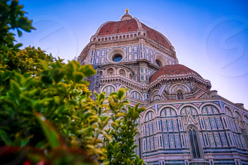 Cathedral of Santa Maria del Fiore in Florence Italy. photo