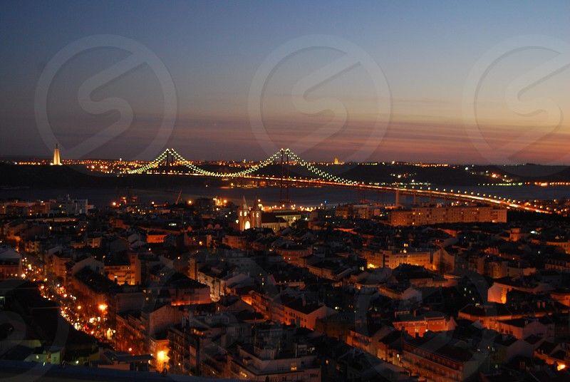 Bridge Lisbon Portugal photo