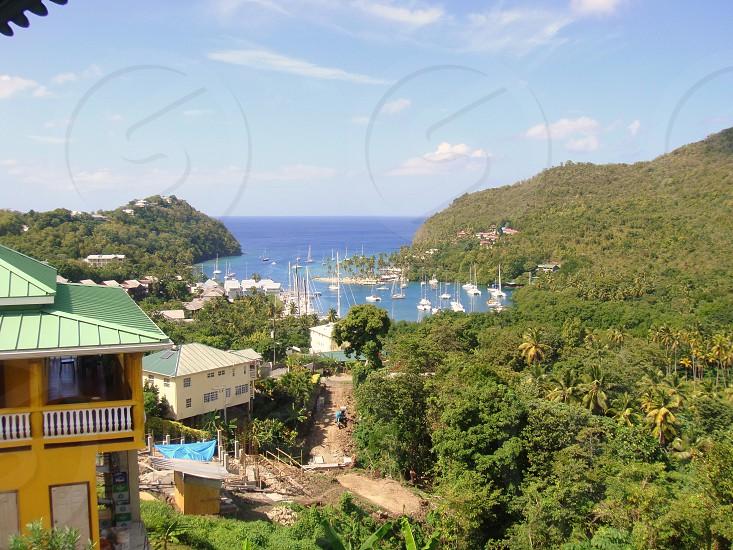 Marigot Bay St Lucia photo