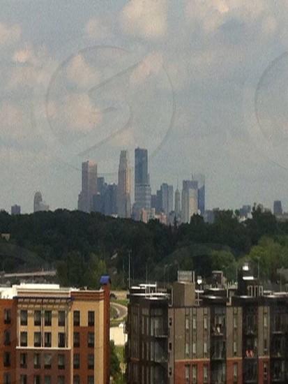 Minneapolis city view beautiful  photo