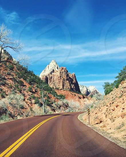 Road Trip Utah Zion National Park Travel Van photo