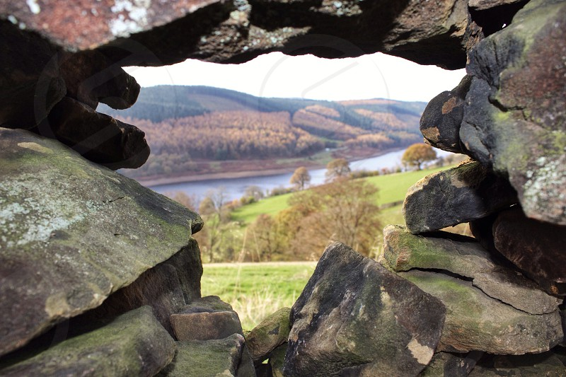 Hole in the wall Derwent  photo