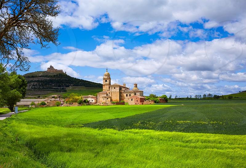 Castrojeriz in the way of Saint James at Castilla Spain photo