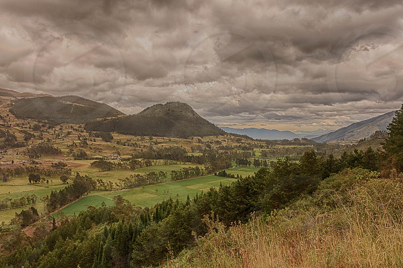 Andes Mountains Ecuador photo