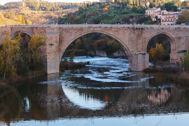 Toledo bridge photo