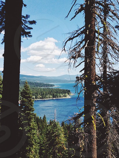 Lake Tahoe California. Short easy hikes are just as breathtaking photo