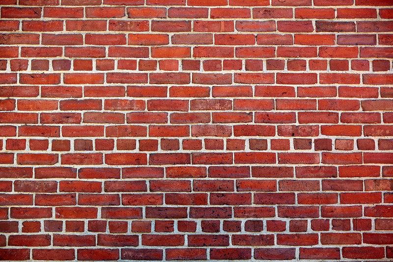 Boston brickwall brick wall texture in Massachusetts USA photo