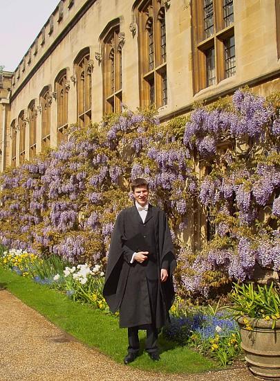 Graduation Balliol College Oxford photo