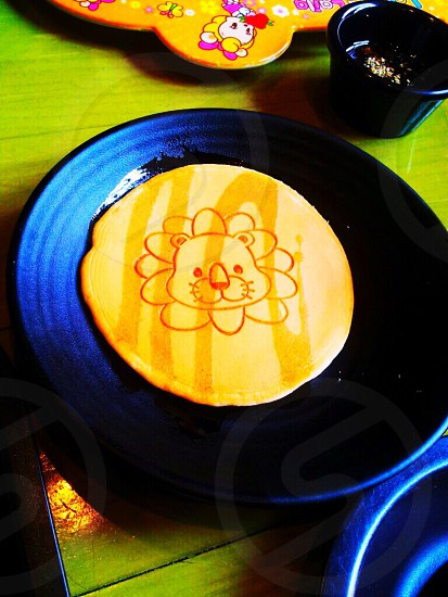 Pancakeblueplate photo