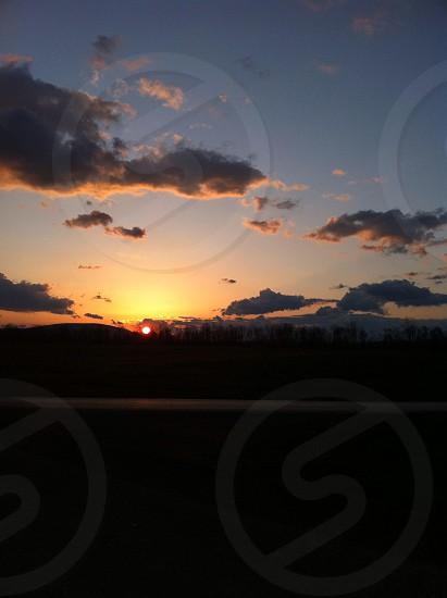 Sunset over PA photo