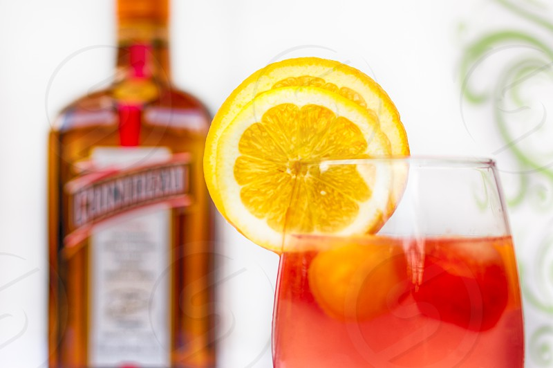 White Wine Sangria with Cointreau photo