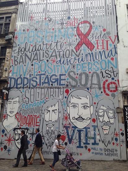 Graffiti - Wall art - street art  photo