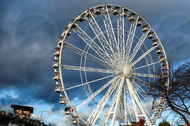 Ferris Wheel at Winter Wonderland Hyde Park photo