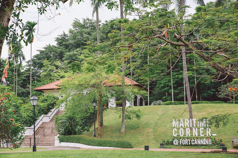 Fort Canning - Singapore photo