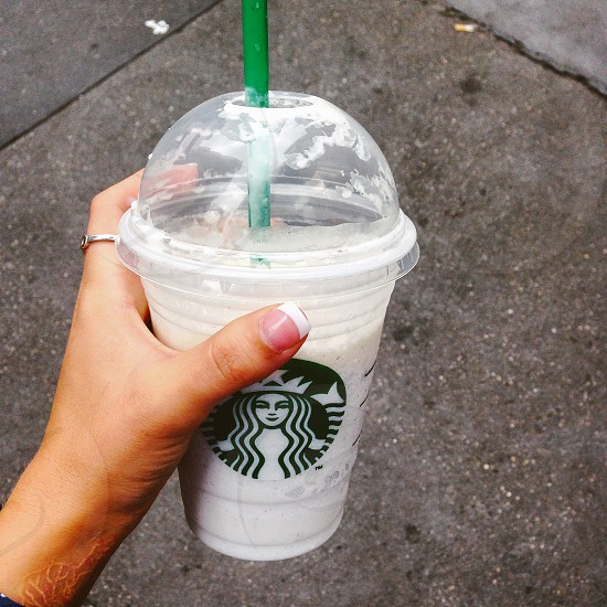 Starbucks basic nails bliss vanilla photo