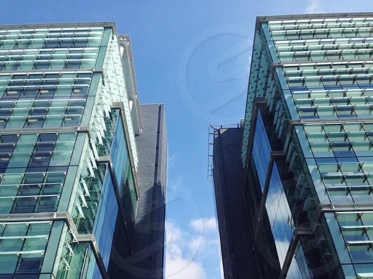 Office buildings in Birmingham UK photo
