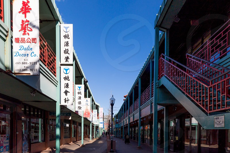 Chinatown Square is home to a seemingly endless string of herbal shops restaurants souvenirs Asian bakeries and candy stores.  photo