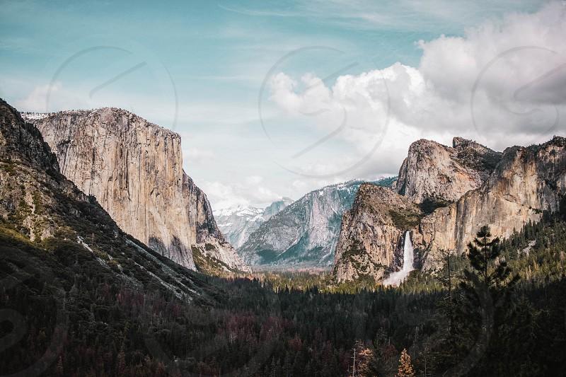 Yosemite nature mountains photo
