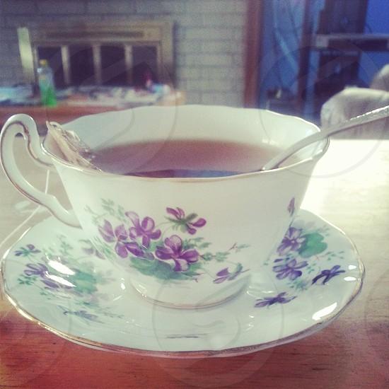 Tea Pattern China Grandmother's china photo