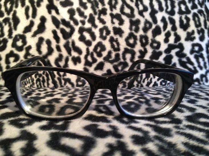 black cat's eye sunglasses photo