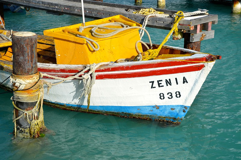 Fishing Boat colors photo