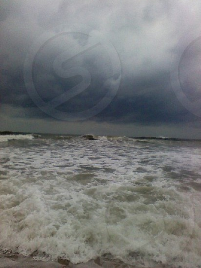 Atlantic storm moving in photo