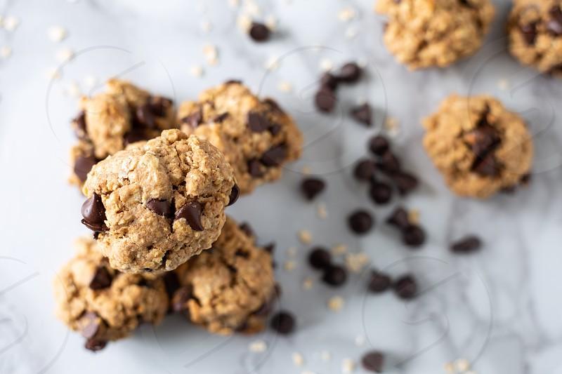 healthy oak cookies photo